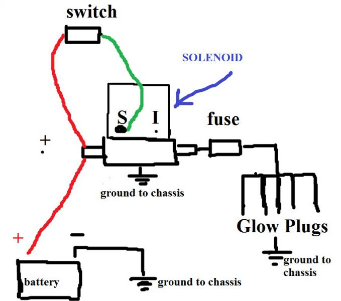 automotive horn wiring diagram with Glow Plug Controller Wiring Diagram on 128158 Wiring Diagram For 1985 Ford F150 additionally 1966 Mustang Wiring Diagrams likewise Showthread also Iocooling further Honda S50 Electrical Wiring Diagram.