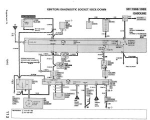 500E Ignition Switch Wiring Diagram  PeachParts Mercedes