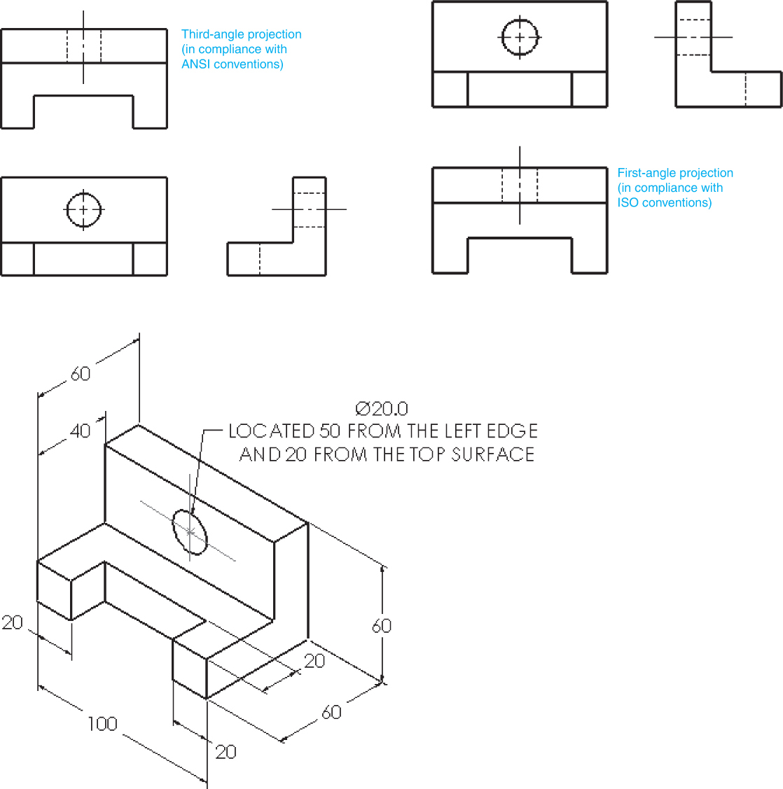 35 Ideas For Orthographic Sketching Multiview Drawing