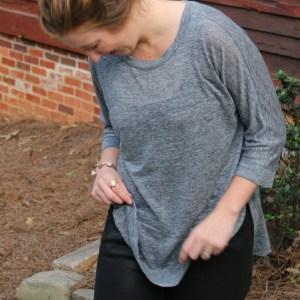 Fall Denim Trends: Coated Black Jeans