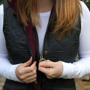 My Favorite Barbour Vest – Cold Weather Essentials
