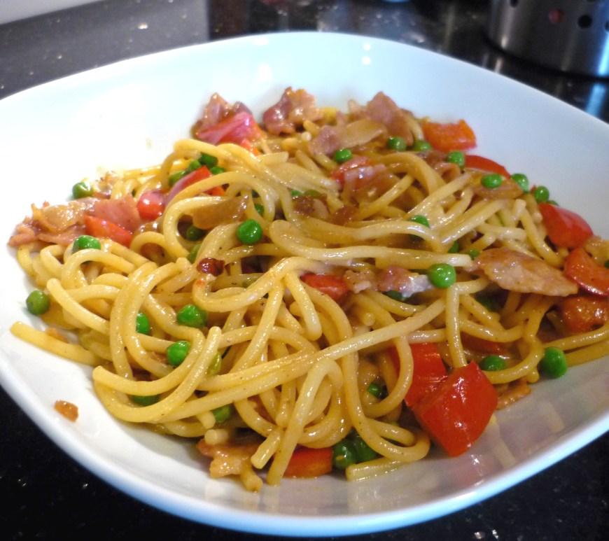 Easy Creamy Spaghetti