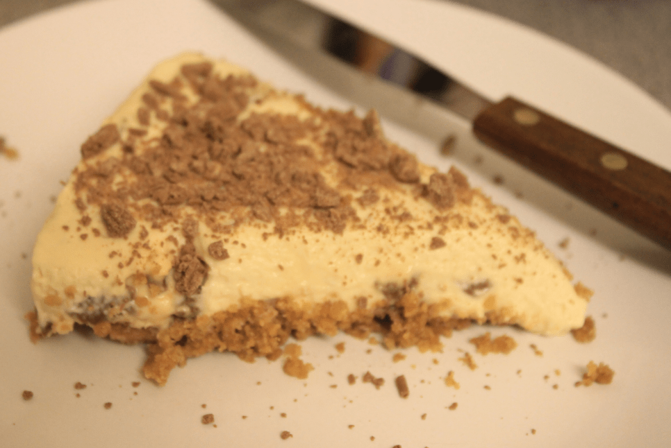 Crunchie Cheesecake