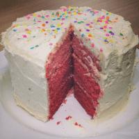 Ombre cake - so pretty!