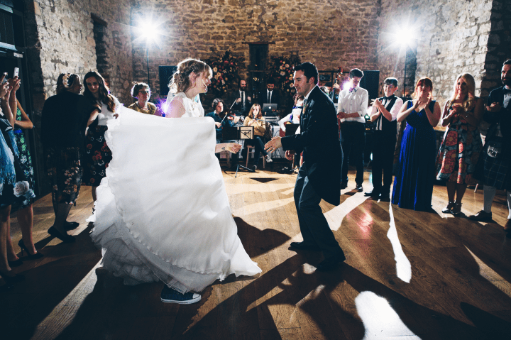 Ceilidh dancing! Photo by Mister Phill.