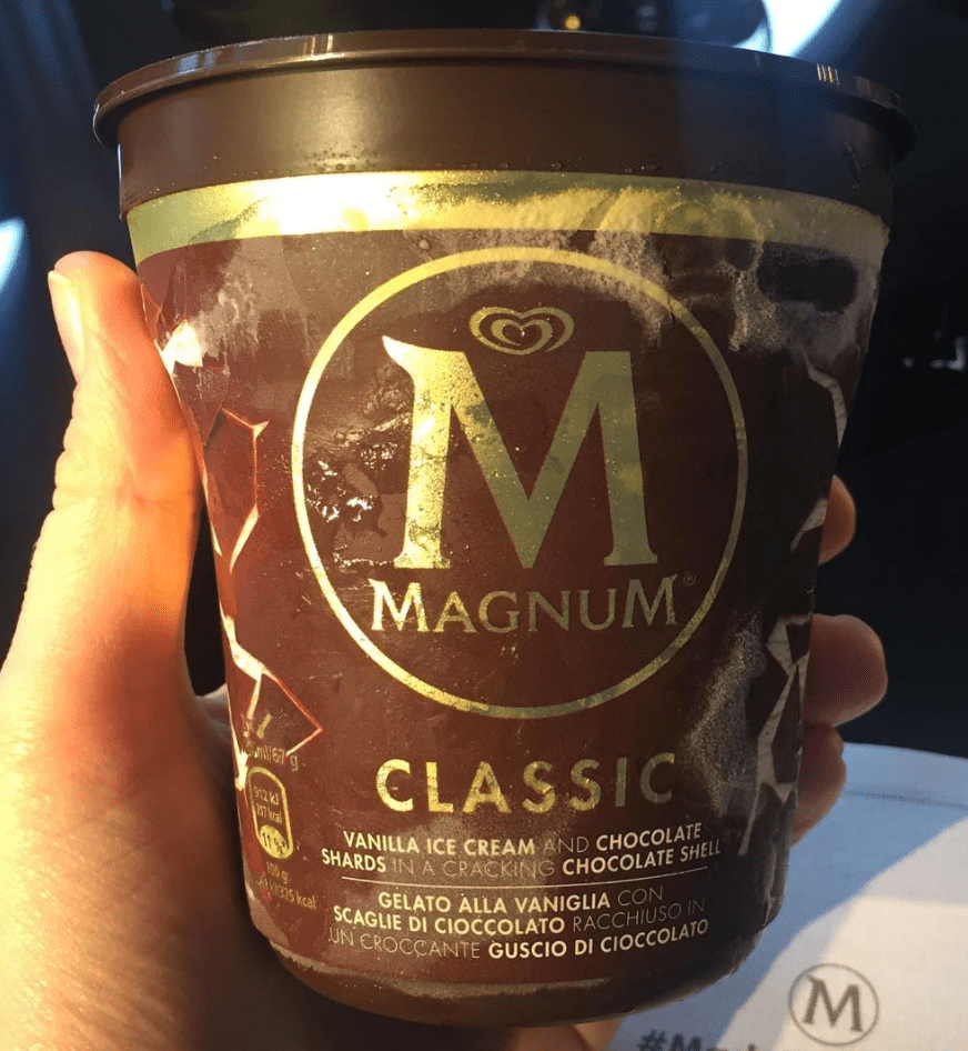 Magnum - now in tubs!