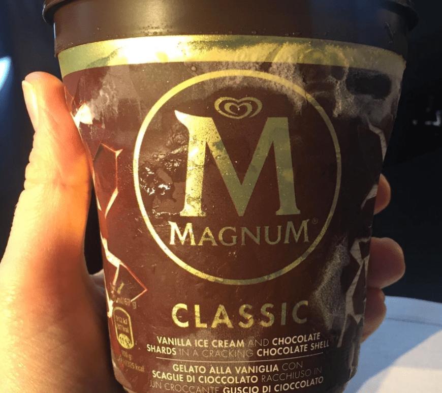 Magnum in a TUB!