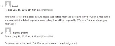 NOM's butthurt over CA Prop 8