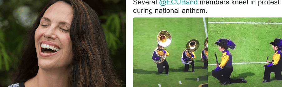 Tracy Tuten threatens to bring a gun to protest students sitting out national anthem