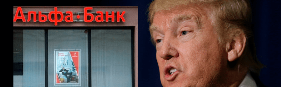 Donald Trump maintained a private, secret server with Alfa Bank in Russia