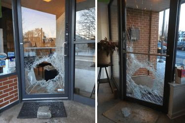 LGBT Center of Central PA vandalized