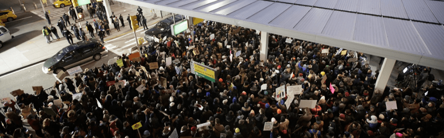 Trump's Attack on Muslims & Refugees & the ACLU Response