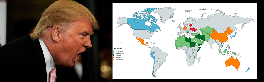 Donald Trump contimues to blunder through foreign policy conflicts