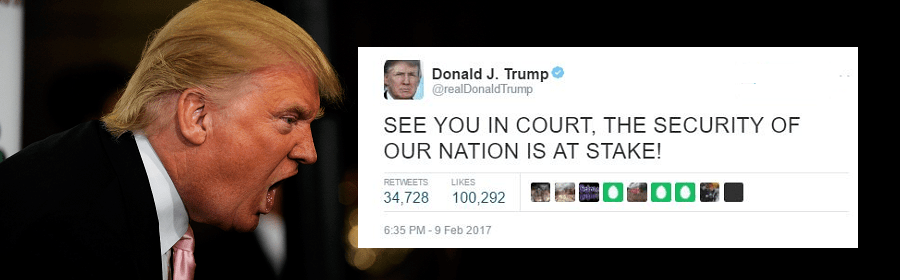 the Trump Muslim travel ban lost in appeals court at the 9th circuit