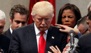 evangelical moral high ground lost over support for Donald Trump