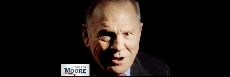 Roy Moore Would Eliminate Virtually Everyone's Rights