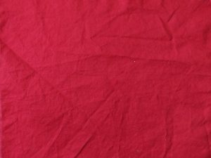solid-color, dark red fabric