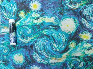 "swirls and stars from Vincent Van Gogh's ""Starry Night"" painting"