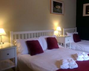 Church Corner Cottage, Youlgrave, Peak District Holiday - Triple Bedroom