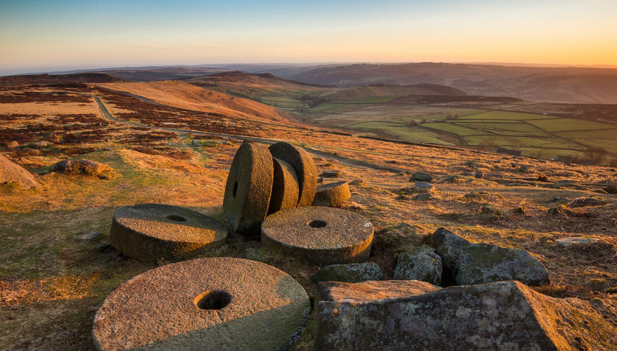 Cropped Stanage Edge Peak District Landscape Photography Jpg