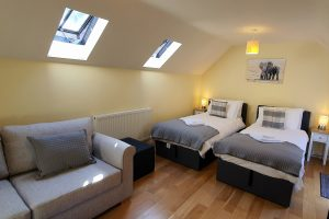 Clock Cottage, Matlock, Twin Bedroom
