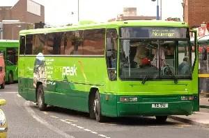 peak district bus