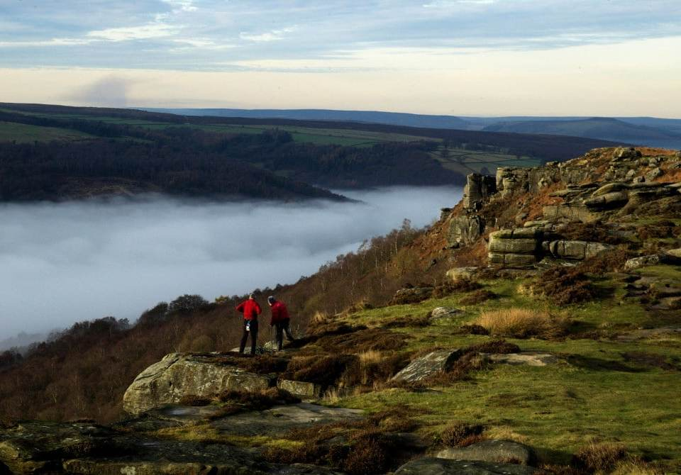 curbar edge walk