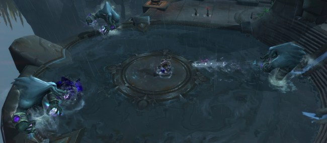 Aqu'sirr's Aqualings in Shrine of the Storm