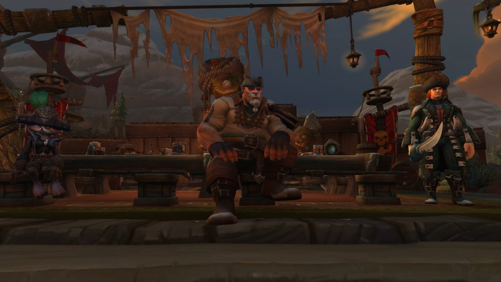 The Council o' Captains boss models in Freehold