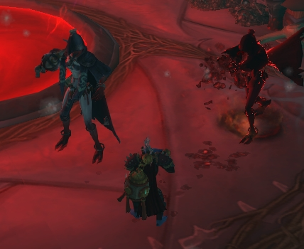 Elder Leaxa's Blood Effigy in the Underrot