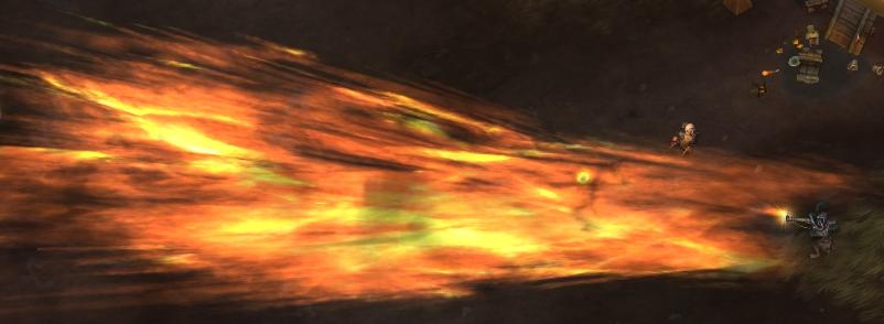 Captain Eudora's Grapeshot Blast in Freehold
