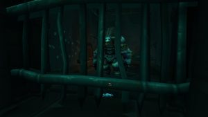a Tauren hostage in Tol Dagor