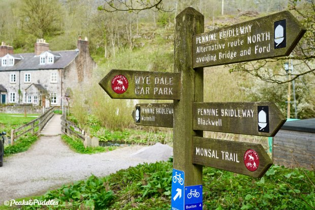 The Pennine Bridleway crosses the trail at Blackwell Mill, but it's a very tricky route into the valley without good mountain skills.