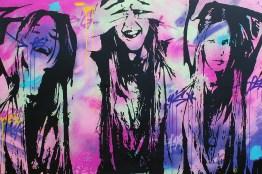 femme, femme, femme est une peinture streetart par peam's streetartiste et artiste urbain