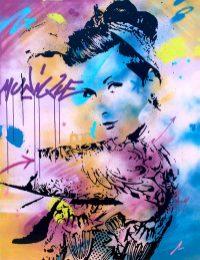 girl power est une peinture streetart par peam's streetartiste et artiste urbain