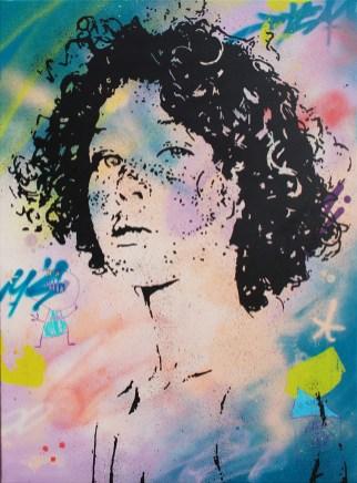 regarde moi dans les yeux est une peinture streetart par peam's streetartiste et artiste urbain