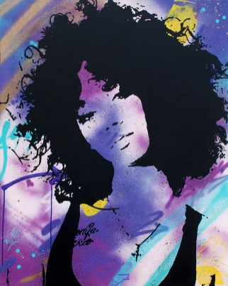 soul woman est une peinture streetart par peam's streetartiste et artiste urbain