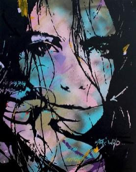 Staywild est une peinture streetart par peam's streetartiste et artiste urbain