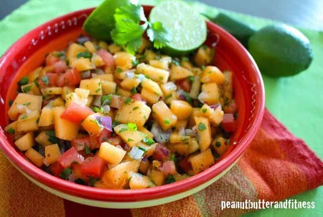 Cantaloupe Salsa