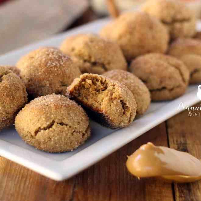 Peanut Butter Protein Snickerdoodles