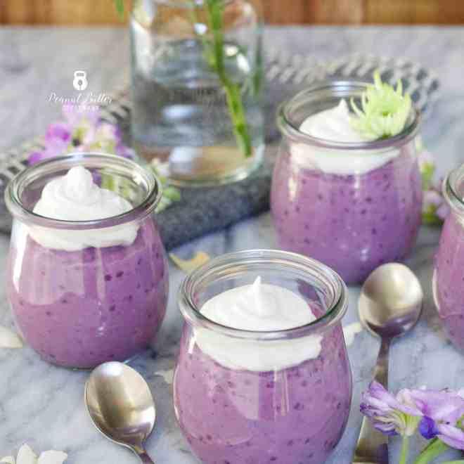 Paleo Purple Sweet Potato Tapioca Pudding