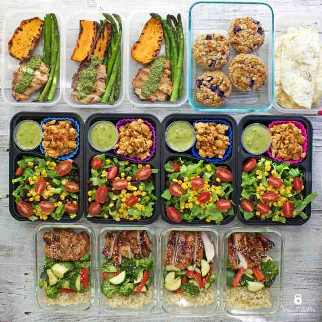 Meal Prep – Week of June 5th, 2017