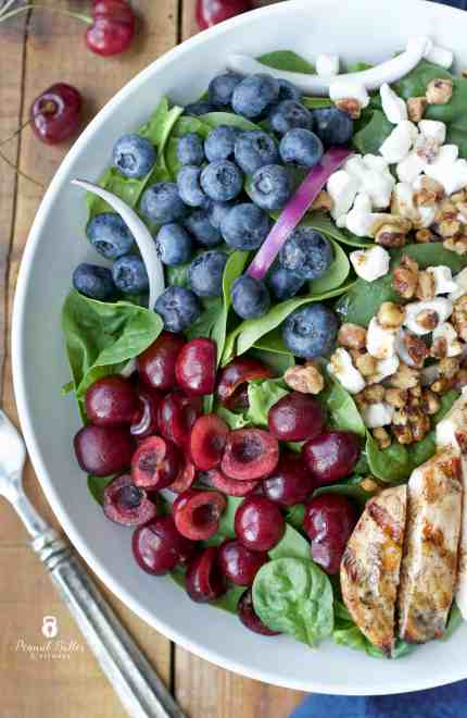 Cherry Berry Summer Chicken Salad