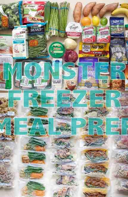 Meal Prep Monday – Monster Freezer Prep