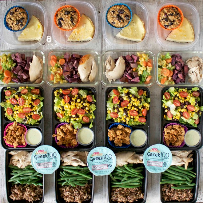 Meal Prep – Week of November 27th, 2017