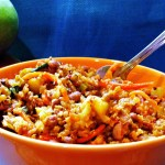 Multigrain Apple Pilaf
