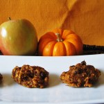 Apple Pumpkin Oatmeal Raisin Cookies