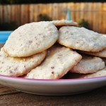 Almond Thin Crisp Cookies