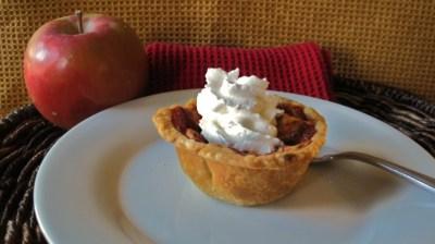Portion Control Apple Pie