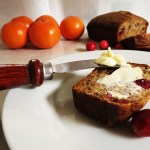 Cranberry Orange Banana Bread